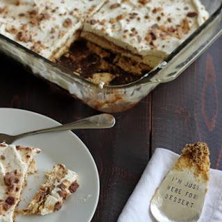 Salted Caramel Mocha Icebox Cake