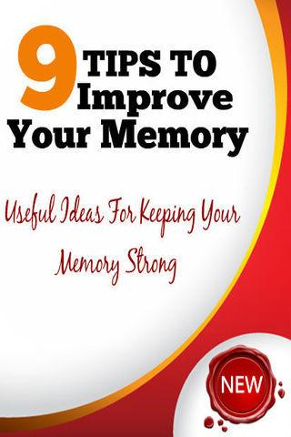 9 Tips To Improve Your Memory