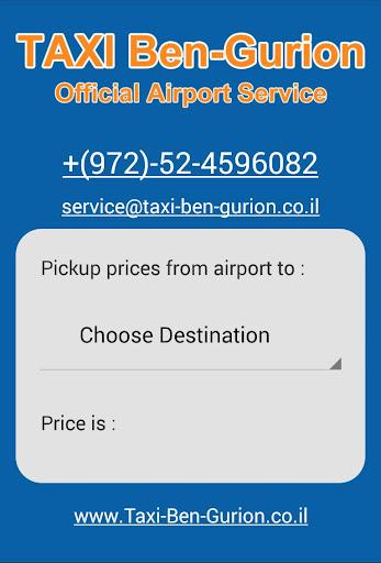 Ben-Gurion Taxi Service
