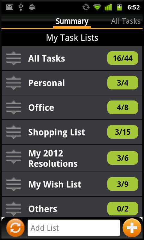 Tasks N ToDos Pro - To Do List - screenshot
