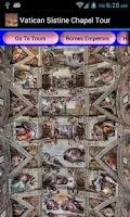 Screenshot of Vatican Sistine Chapel Rome