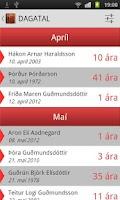Screenshot of ÍslendingaApp SES