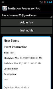 Invitation Processor Pro - screenshot thumbnail