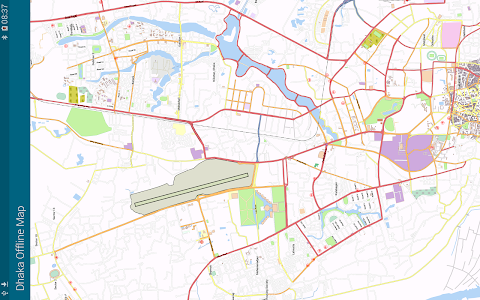 Dhaka Offline Map screenshot 3