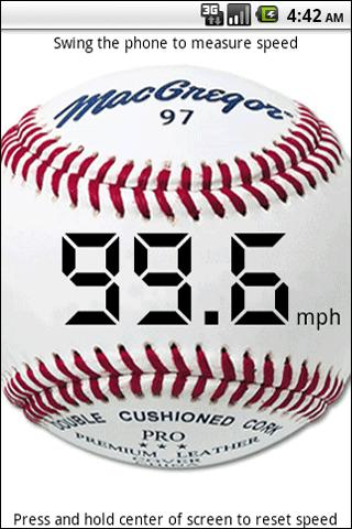 Baseball Speed - screenshot