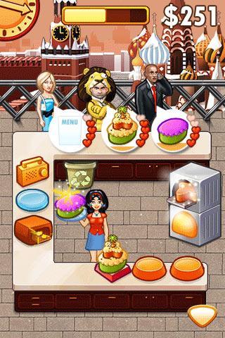 Cake Mania Celebrity Chef- screenshot
