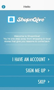 ShopnGive- screenshot thumbnail