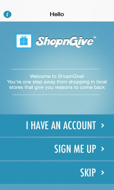ShopnGive- screenshot