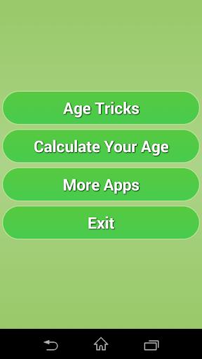 Magic Age Tricks