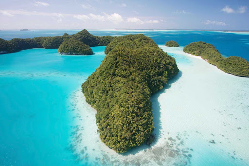 Palau-Rock-Islands - Visit the beautiful Rock Islands in the island country of Palau, Micronesia, when you sail with Silver Discoverer.