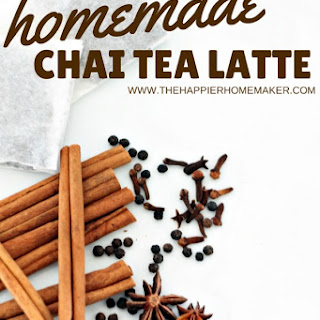Homemade Chai Tea
