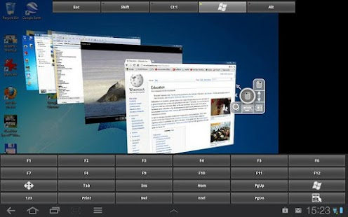 RDP Remote Desktop Connection- screenshot thumbnail