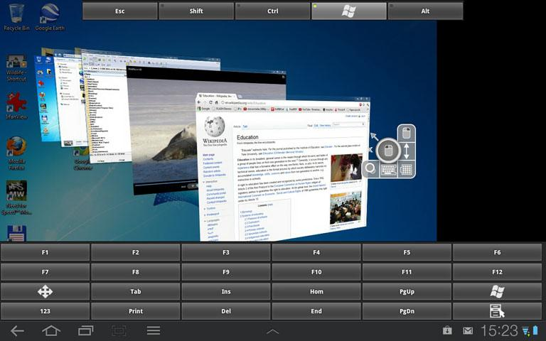 RDP Remote Desktop Connection- screenshot