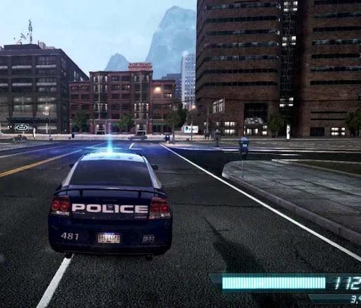 경찰 차 추격