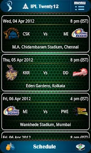 IPL Twenty12 - screenshot thumbnail