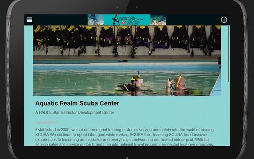 Aquatic Realm Scuba Center|玩運動App免費|玩APPs