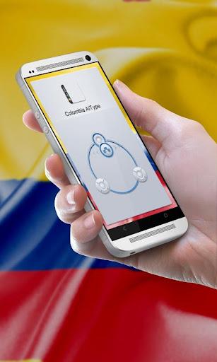 哥倫比亞Gēlúnbǐyǎ AiType