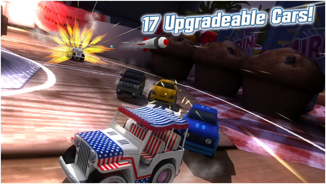 Table Top Racing - screenshot