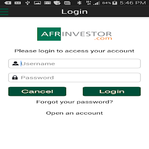 Afrinvestor for Android