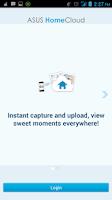Screenshot of ASUS HomeCloud