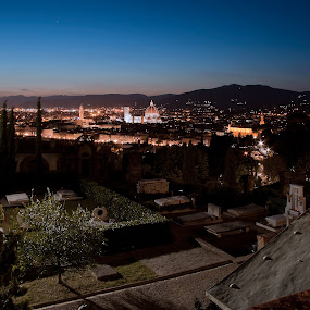 Firenze, San Miniato a Monte by Ricky Papex - City,  Street & Park  Cemeteries ( canon, tuscany, florence, cemetery, canon500d, uffizzi, san miniato a monte, 6d, italy,  )