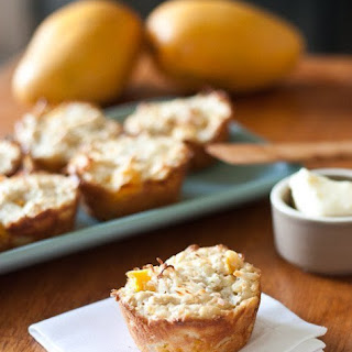 Mango Coconut Oat Muffins