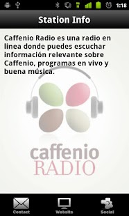 Caffenio Radio - screenshot thumbnail