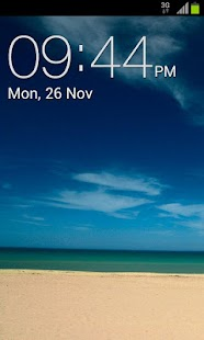 Galaxy Clock Widget - screenshot thumbnail