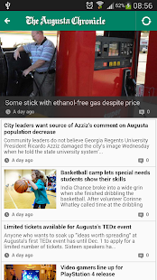 The Augusta Chronicle Mobile - screenshot thumbnail