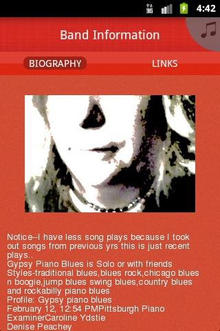 Gypsy Piano Blues - screenshot