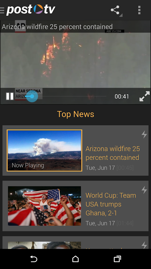 Post TV: Video News - screenshot