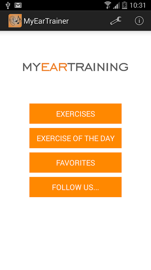 MyEarTrainer - Ear Training - screenshot