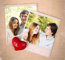 Screenshot of Heart Photo Collages