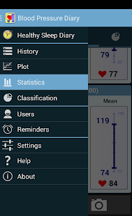 Blood Pressure Diary - screenshot thumbnail