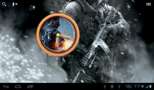 【免費個人化App】BF4 ClockWidget-APP點子