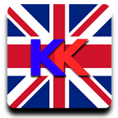 KlearKeys UK Flag Keyboard