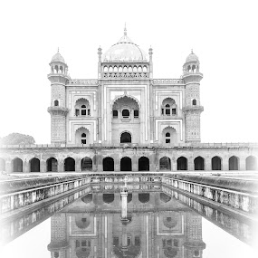 Reflection Of An Era! by Ankur Chaturvedi - Buildings & Architecture Statues & Monuments ( monuments, tomb, india, travel, delhi )