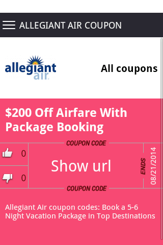 Get air coupon code