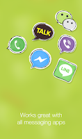 Screenshot of Stickers & Messages by mobile9