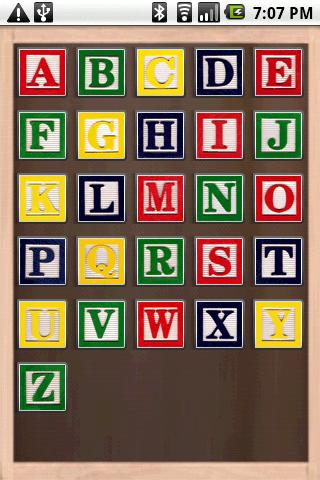 Alphabet Blocks- screenshot