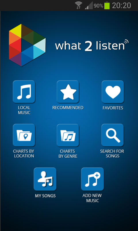 What 2 Listen - screenshot