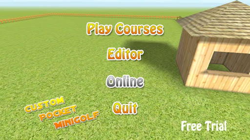 Custom Pocket Minigolf Trial