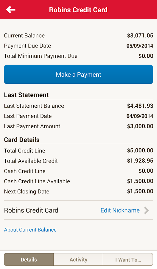 Online Banking Screenshot Bank of America Screenshot 12