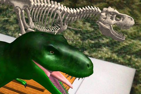 Logie T.Rex Augmented Reality