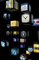 Screenshot of homescreen 3D (full version)