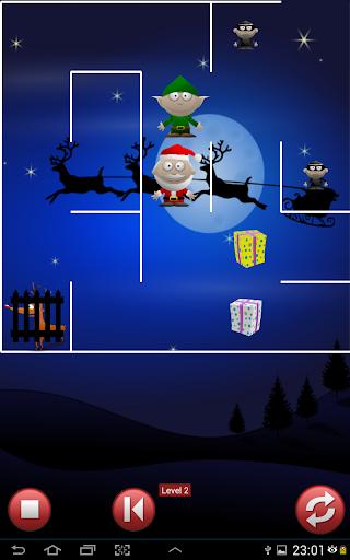 Xmas Elf Santas presents Maze