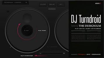 Screenshot of DJTurndroid feat. DESIGNIUM