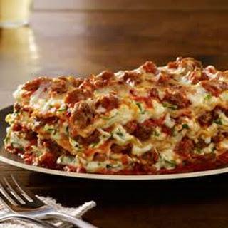 Johnsonville Italian All Natural Ground Sausage Lasagna.