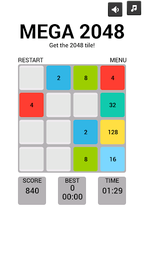 【免費休閒App】MEGA 2048-APP點子