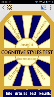 Cognitive Styles CBT Test- screenshot thumbnail